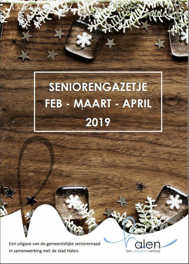 Cover seniorengazetje januari 2019