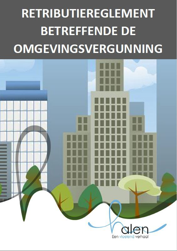 Cover retributiereglement omgevingsvergunning